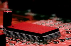 Electronic chip running embedded software