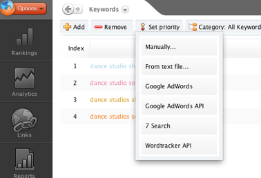 awr-keyword-management